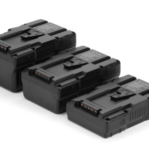 G-B100-98W-160W-195W-290W-15A-22A-Gen Energy-batteries-v mount-D tap-USB-power-video-chargers-backside
